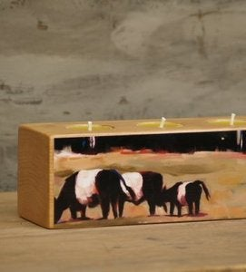 Image of ' On the Edge' Low Tealight Holder
