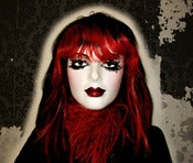 Image of Red & Black Wig~!