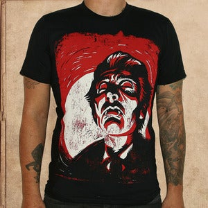 Image of Dracula - discharge inks - unisex - only XS-M left