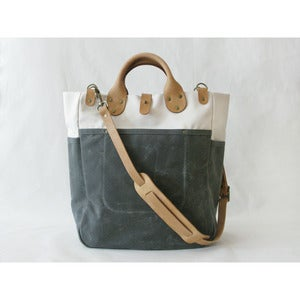 Image of Garrison Bag (Natural/Grey)