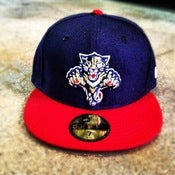 Image of New Era Florida Panthers Olympic Custom Fitted Cap