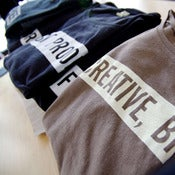 "Image of ""Creative, Brief."" shirts for our agency friends"