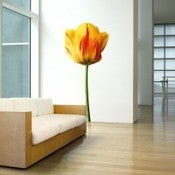 Image of YELLOW TULIP WALL ART