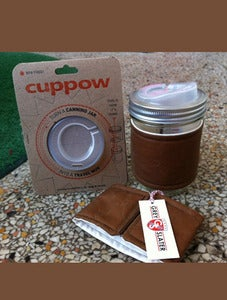 Image of Cuppow On The Go Travel Mug - Wide or Regular Mouth