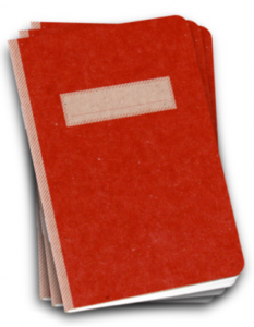 Image of Scout Book 3Pack - Red