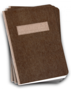 Image of Scout Book 3Pack - Brown