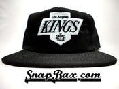 Image of VINTAGE LOS ANGELES LA KINGS AMERICAN NEEDLE SNAPBACK 