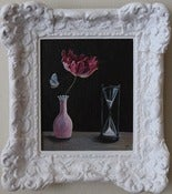 Image of Vanitas / Framed Original Painting / 4.25x6