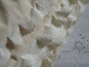 Image of Juliana Single Cream With Lace Edge