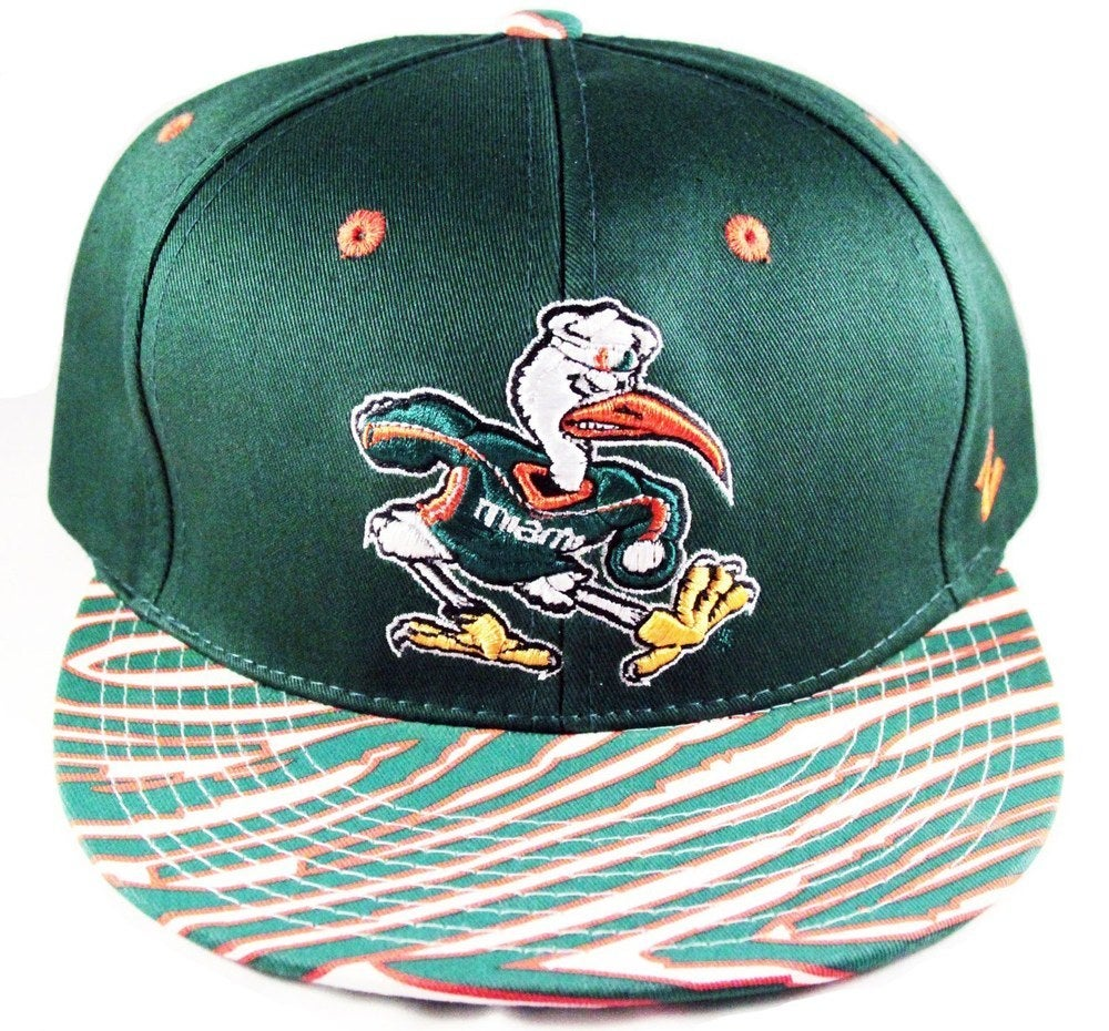 Image of University of Miami Vintage Inspired Snapback by Community 54