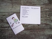 Image of Little Baby 2 Care/Launder Instruction gift tags for your hand-knit treasures