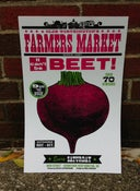 "Image of Farmer's Market ""Can't Be Beet!"" Poster"