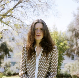 Image of Carrie Parry polka dot blouse