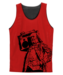 Image of Ben Jammin' Pinnie (Red)