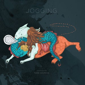Image of Jogging: Take Courage LP