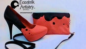 "Image of ""Ladybug"" Custom High Heels & Purse set (limited 5 pairs)"