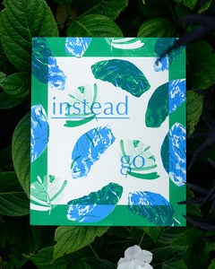 Image of instead go risograph print SET