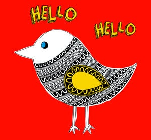 Image of Hello Hello Print