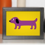 Image of Sausage Dog Print