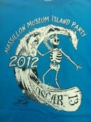 Image of Island Party 2012 Shirt (Plain Teal)