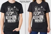 Image of Keep On Movin'!: Rock N Soul Dance Party - ATLANTA (T-shirt)