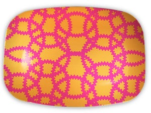 Image of Venetia Pink & Orange Platter