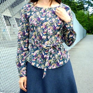 Image of Sewaholic Patterns Alma Blouse Sewing Pattern