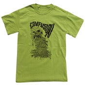 Image of Confusion ACID PUKE t-shirt [green]