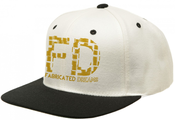 Image of Fabricated Dreams Snapback Gold