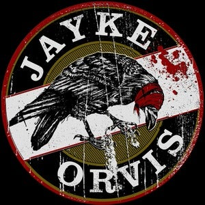 Image of Jayke Orvis - Crow Logo Back Patch