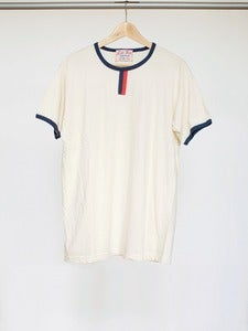 Image of Seconds: Natural Heather Crew Tee