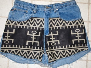 Image of High Waisted Native Shorts