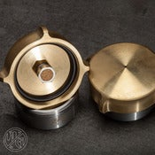 Image of  W/G 4 FINGER FUEL CAP BRASS