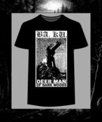 Image of BA. KU. DEER MAN OF DARK WOODS V.2 T-SHIRT