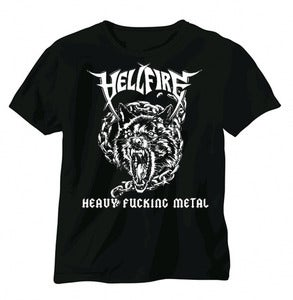 Image of Hell Fire Heavy Fucking Metal Shirt