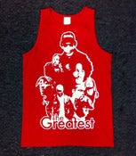Image of Greatest Tanktop &quot;Red&quot;