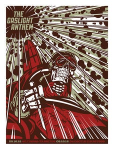 Image of The Gaslight Anthem - Brooklyn, NY - Concert Poster