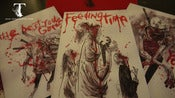 Image of ZOMBIE POSTCARD SET OF 5