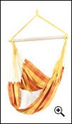 Image of AMAZONAS Relax orange weatherproof hanging chair