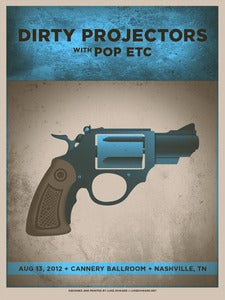 Image of Dirty Projectors Poster