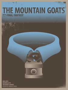 Image of Mountain Goats Poster