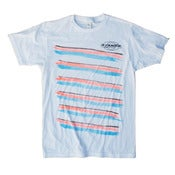 Image of STAMPS SURFBOARDS TEE, BY DELVE: SLANTED