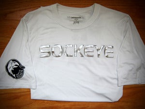 Image of 2012 White Sockeye Authentic Jersey
