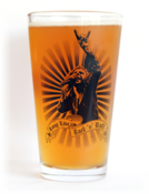 Image of Ronnie James Dio - Long Live Rock n' Roll - 16 oz. pint glass