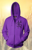 Image of THE MARK ZIP-UP (PURPLE)
