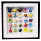 Image of Tea Set Shadowbox by Carlos Silva