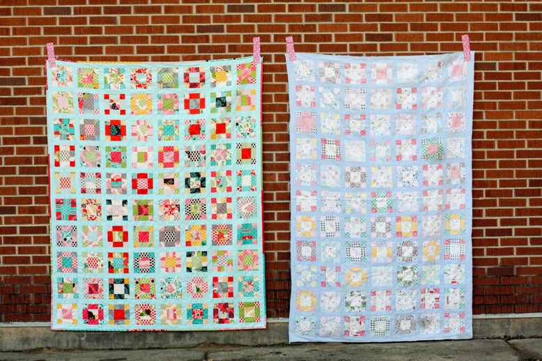 Image of Vintage Nine-Patch Quilt PDF Pattern