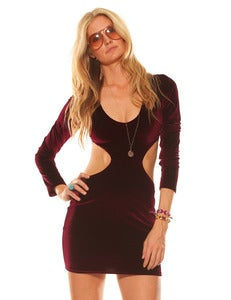 Image of VELVET SABBATH DRESS