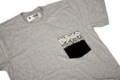 Image of LIV WEALTHY PYTHON SNAKESKIN T-SHIRT MIXED