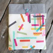 Image of ipad case - washi tape 